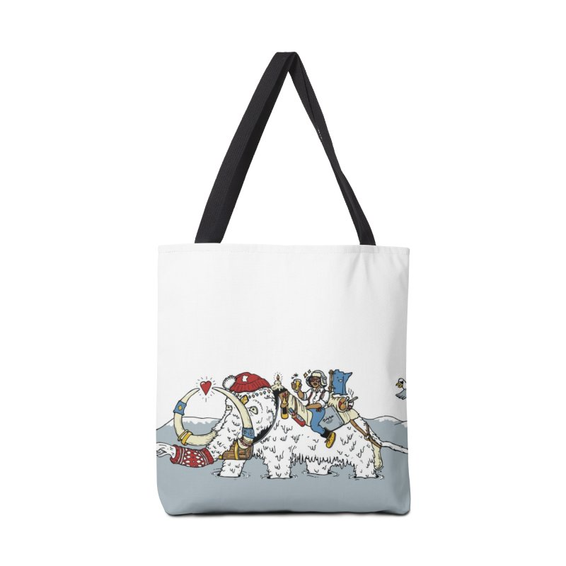 Knocked Out Loaded Accessories Tote Bag Bag by bellyup's Artist Shop