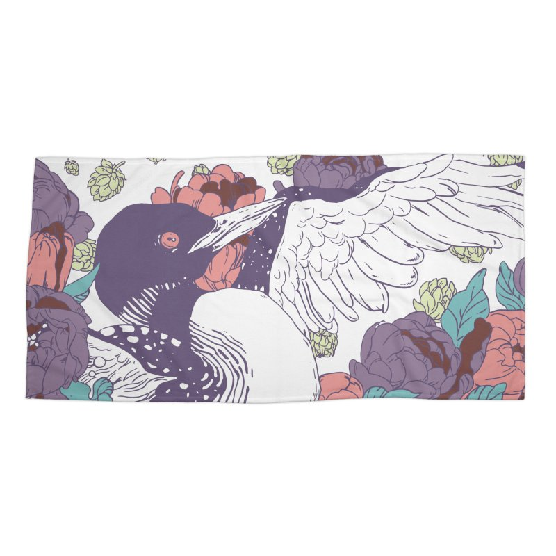 Hoppy Loon Accessories Beach Towel by bellyup's Artist Shop