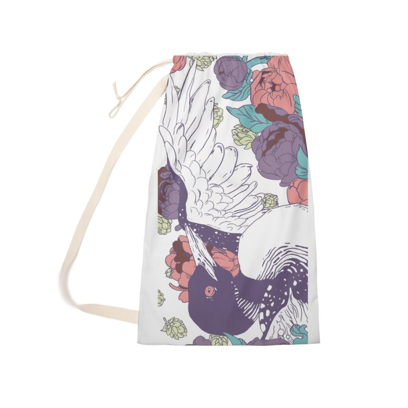 Hoppy Loon Accessories Laundry Bag Bag by bellyup's Artist Shop