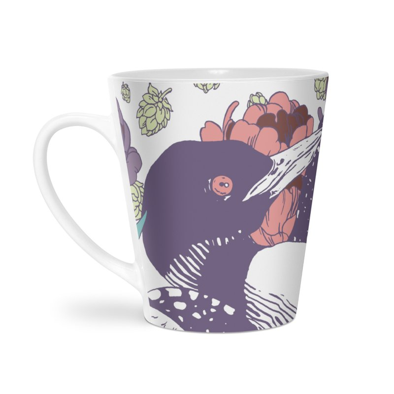 Hoppy Loon Accessories Latte Mug by bellyup's Artist Shop
