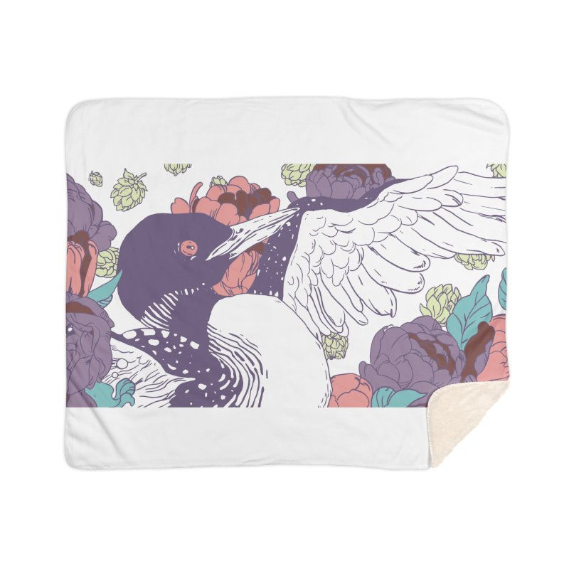 Hoppy Loon Home Blanket by bellyup's Artist Shop