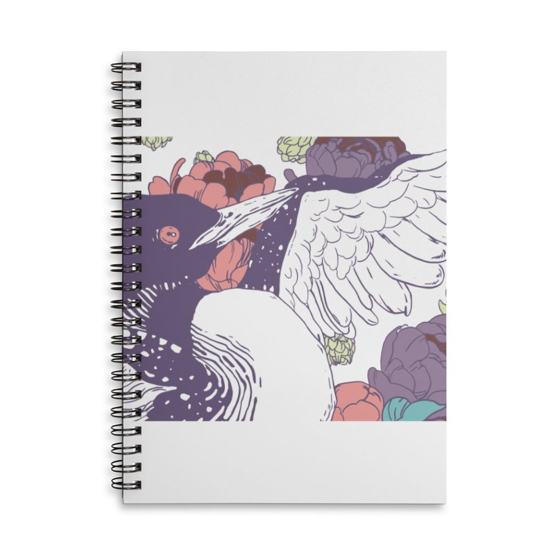 Hoppy Loon Accessories Lined Spiral Notebook by bellyup's Artist Shop