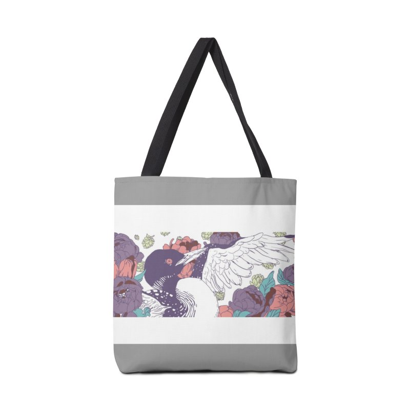 Hoppy Loon Accessories Tote Bag Bag by bellyup's Artist Shop