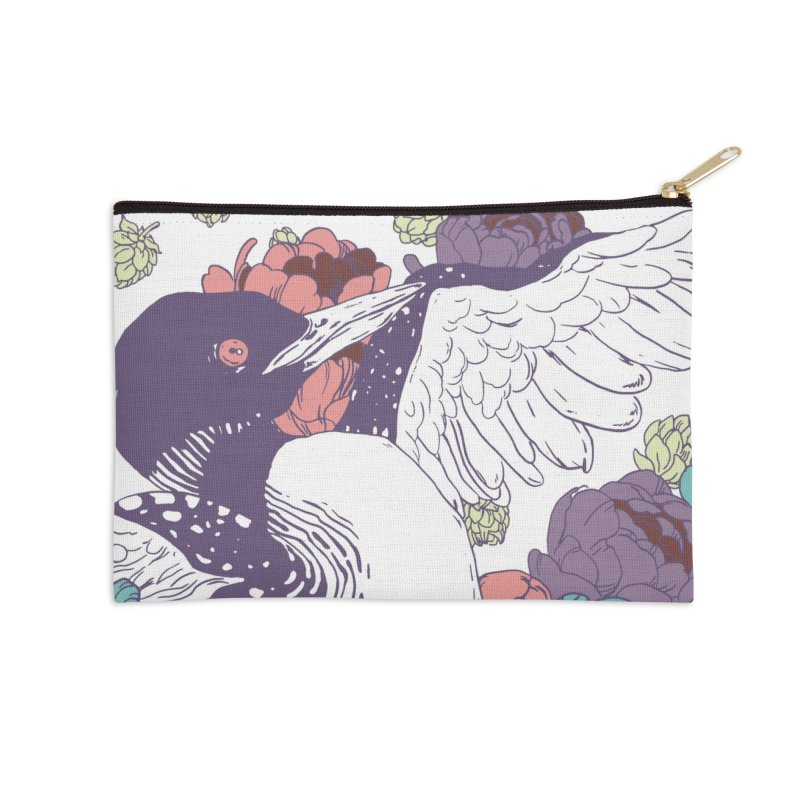 Hoppy Loon Accessories Zip Pouch by bellyup's Artist Shop