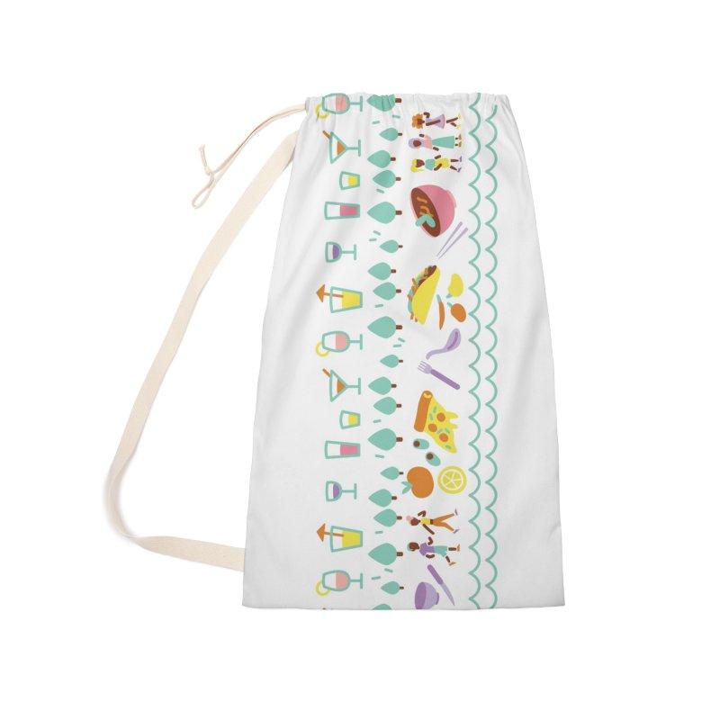 Caribe del Norte Accessories Bag by bellyup's Artist Shop
