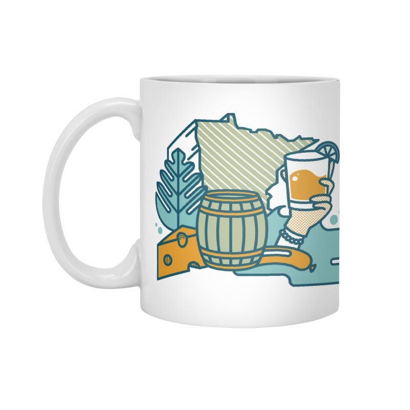 Here Comes A Regular Accessories Mug by bellyup's Artist Shop