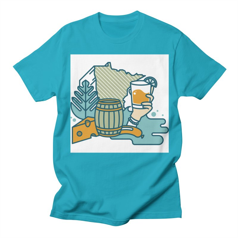 Here Comes A Regular Men's T-Shirt by bellyup's Artist Shop