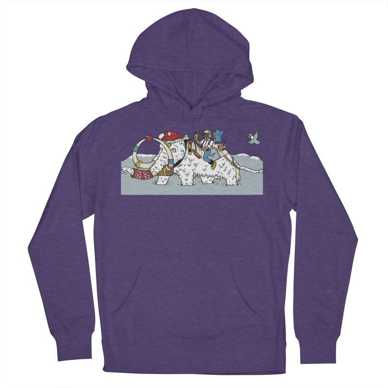 Knocked Out Loaded (Apparel) Men's French Terry Pullover Hoody by bellyup's Artist Shop