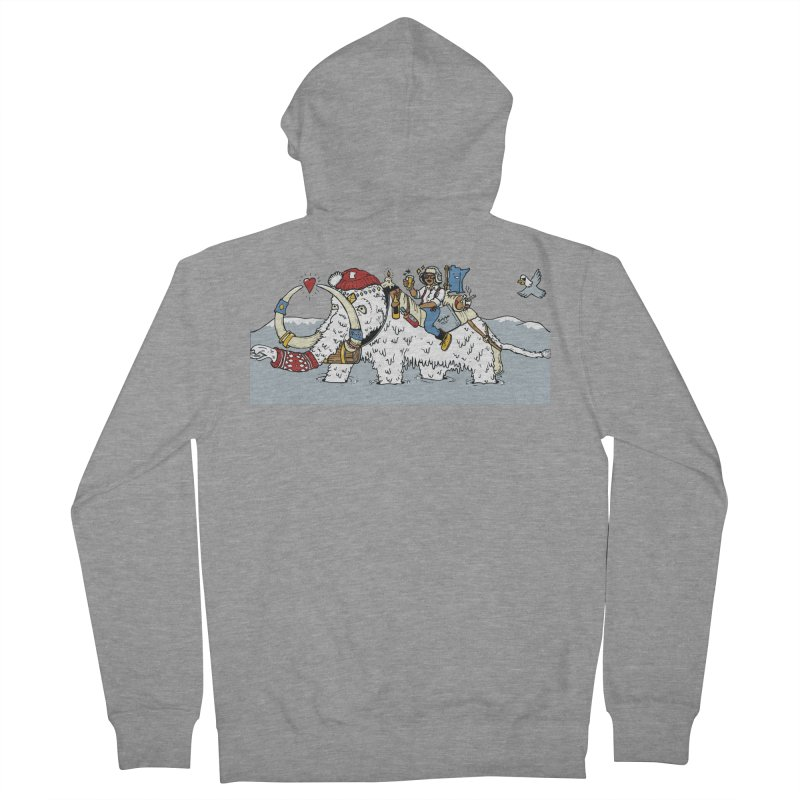 Knocked Out Loaded (Apparel) Women's French Terry Zip-Up Hoody by bellyup's Artist Shop
