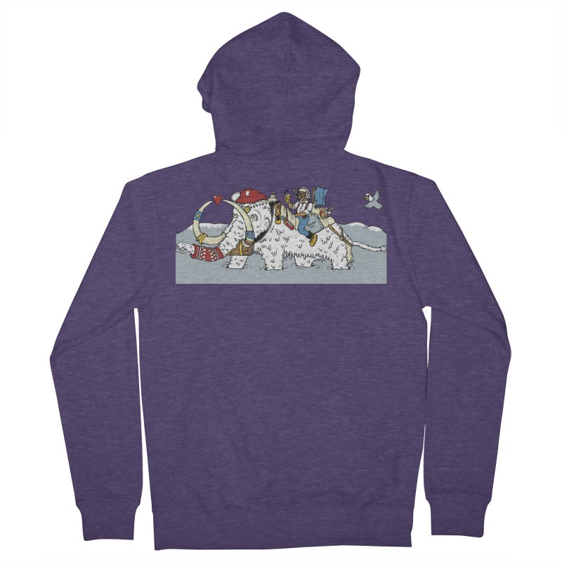 Knocked Out Loaded (Apparel) Men's Zip-Up Hoody by bellyup's Artist Shop