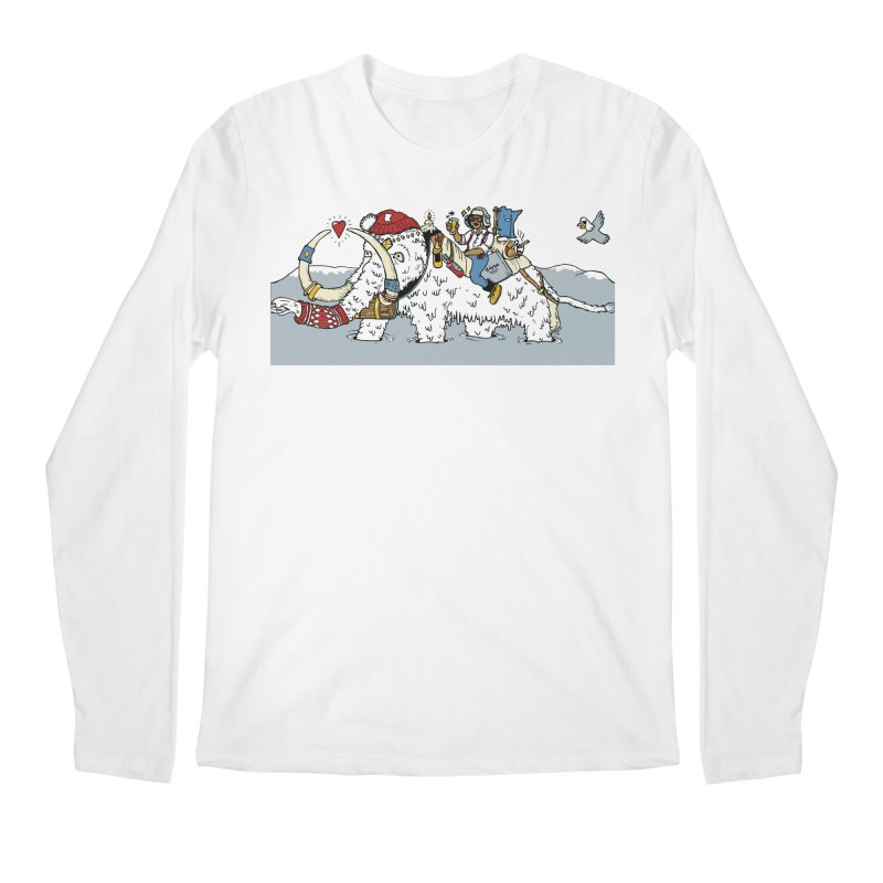 Knocked Out Loaded (Apparel) Men's Regular Longsleeve T-Shirt by bellyup's Artist Shop