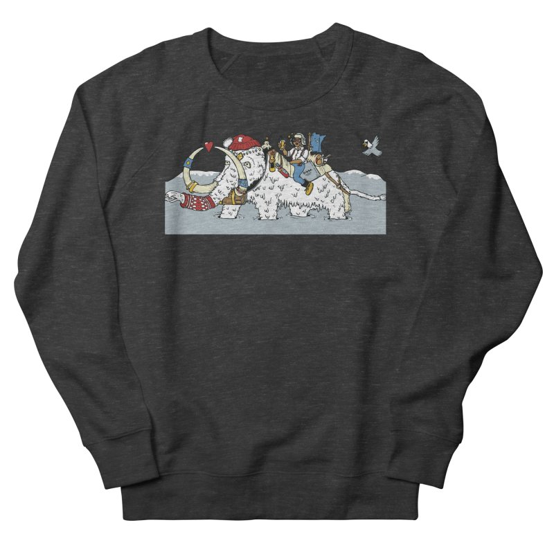Knocked Out Loaded (Apparel) Women's French Terry Sweatshirt by bellyup's Artist Shop