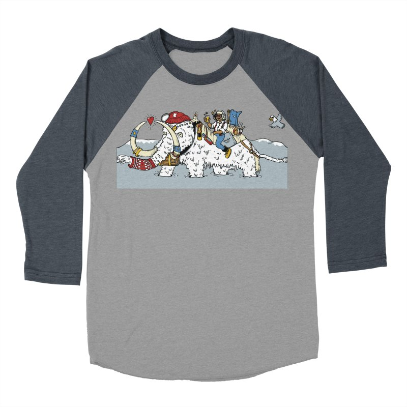 Knocked Out Loaded (Apparel) Women's Baseball Triblend Longsleeve T-Shirt by bellyup's Artist Shop