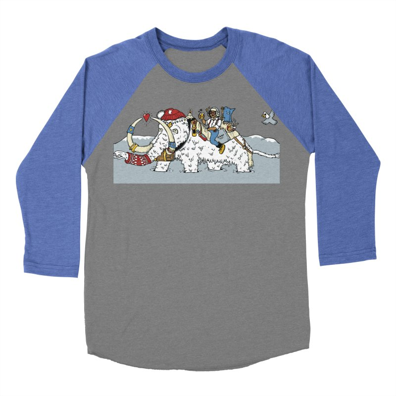 Knocked Out Loaded (Apparel) Men's Baseball Triblend Longsleeve T-Shirt by bellyup's Artist Shop