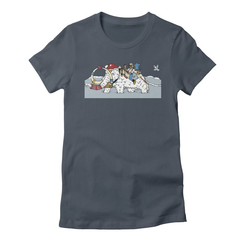 Knocked Out Loaded (Apparel) Women's T-Shirt by bellyup's Artist Shop