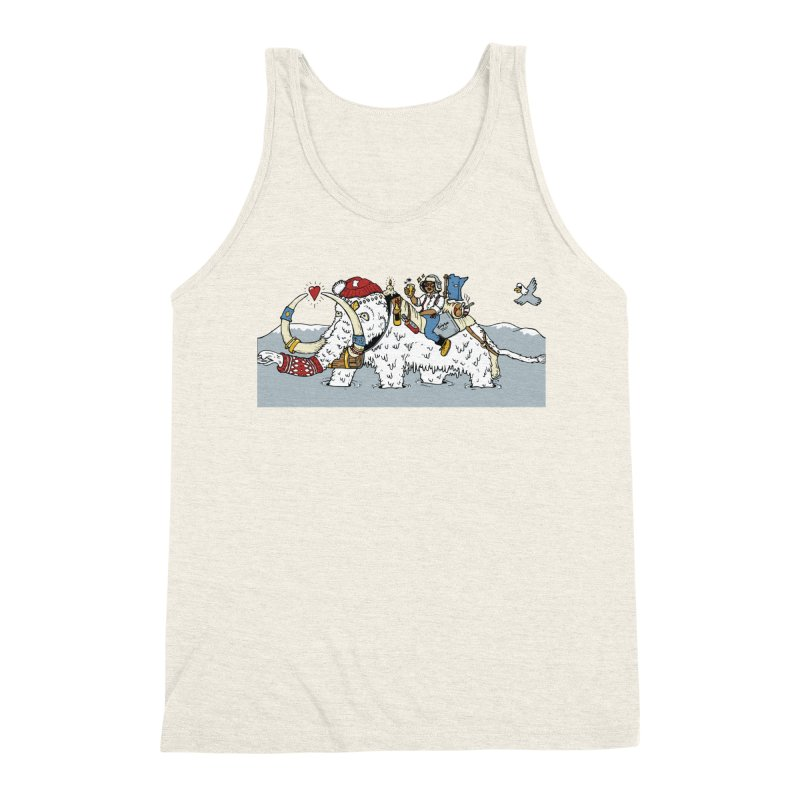 Knocked Out Loaded (Apparel) Men's Triblend Tank by bellyup's Artist Shop