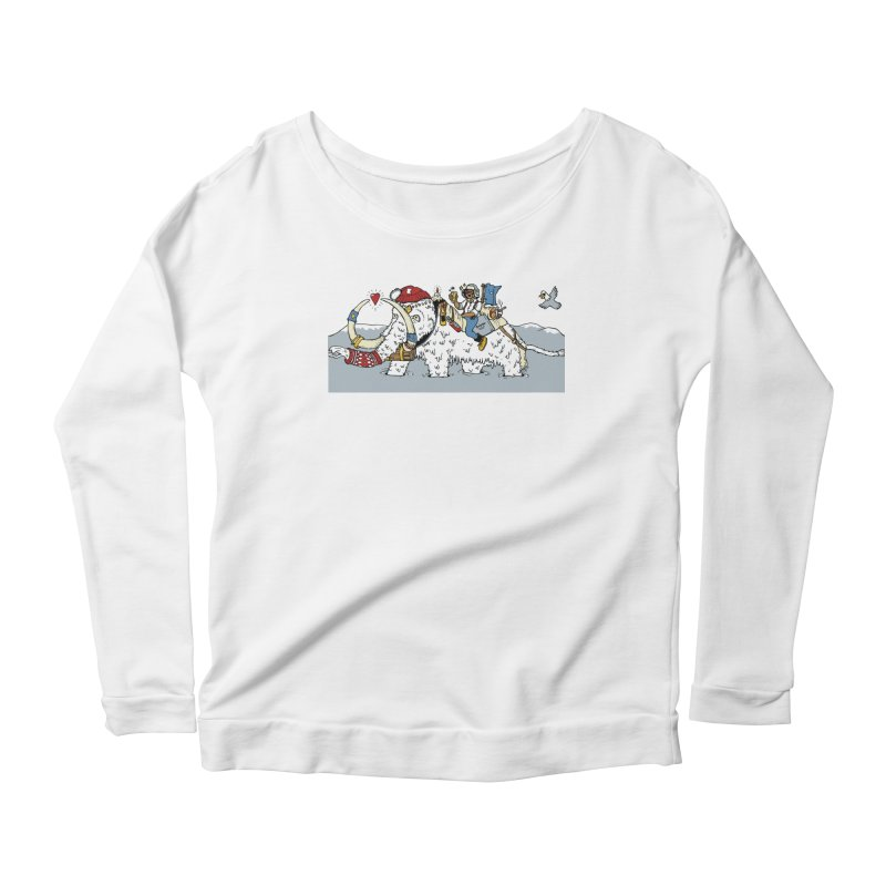Knocked Out Loaded (Apparel) Women's Scoop Neck Longsleeve T-Shirt by bellyup's Artist Shop
