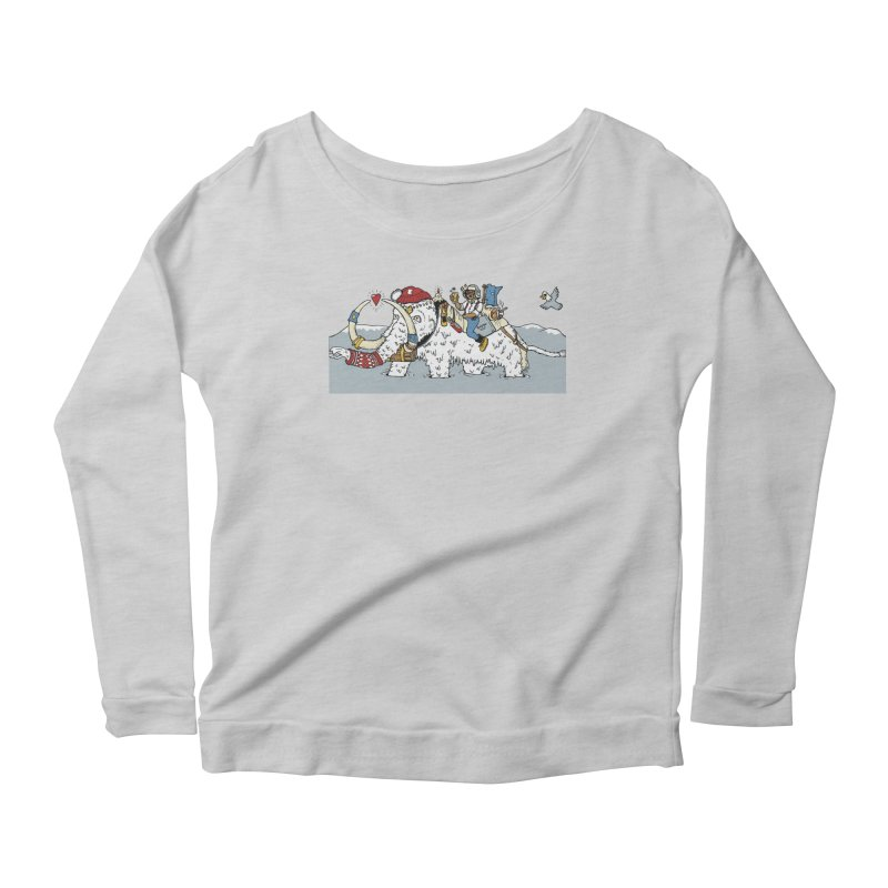 Knocked Out Loaded (Apparel) Women's Scoop Neck Longsleeve T-Shirt by bellyup's Artist Shop