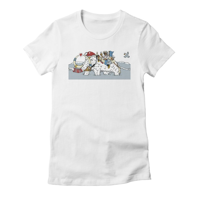 Knocked Out Loaded (Apparel) Women's Fitted T-Shirt by bellyup's Artist Shop