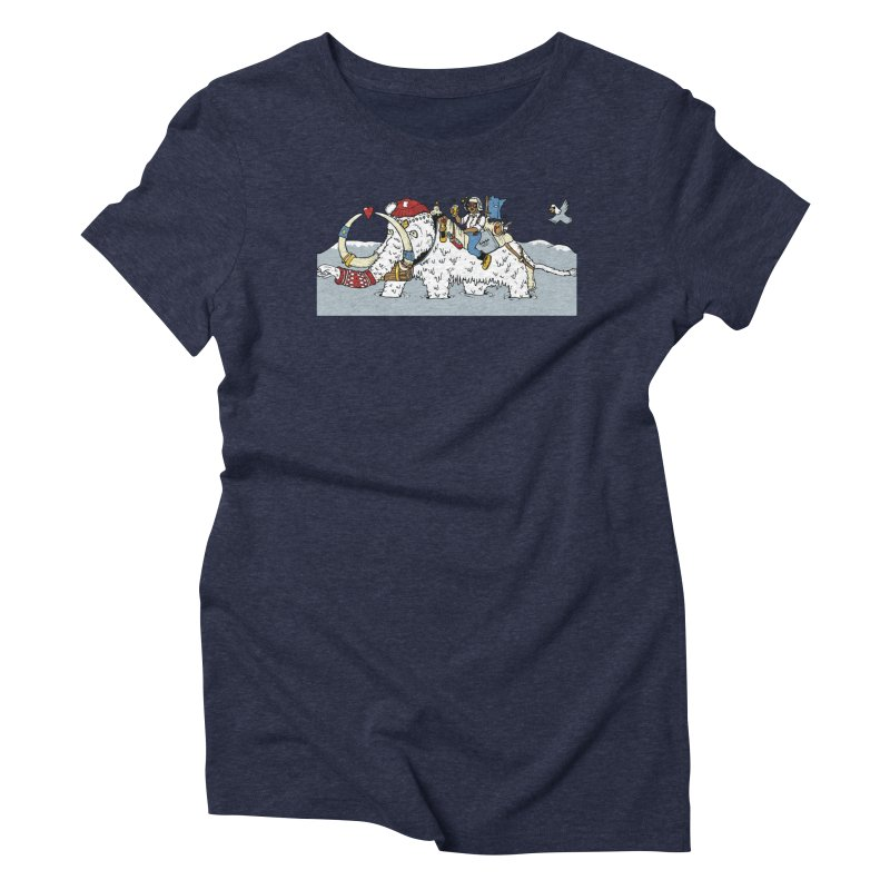Knocked Out Loaded (Apparel) Women's Triblend T-Shirt by bellyup's Artist Shop