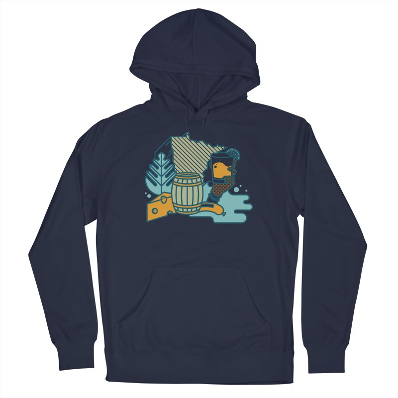 Here Comes a Regular (Apparel) Men's Pullover Hoody by bellyup's Artist Shop