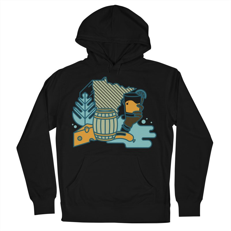 Here Comes a Regular (Apparel) Men's French Terry Pullover Hoody by bellyup's Artist Shop