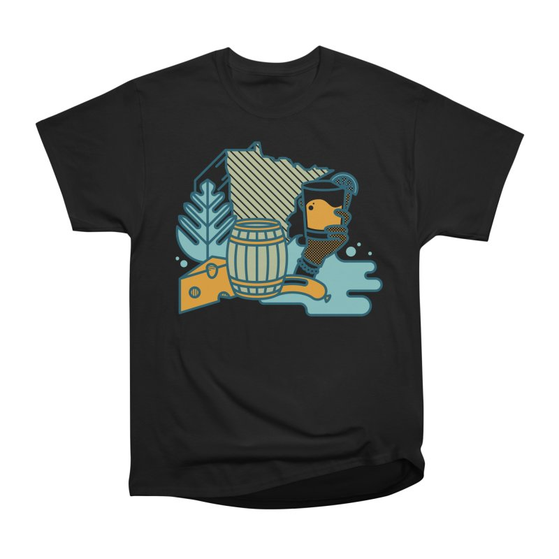 Here Comes a Regular (Apparel) Men's Heavyweight T-Shirt by bellyup's Artist Shop