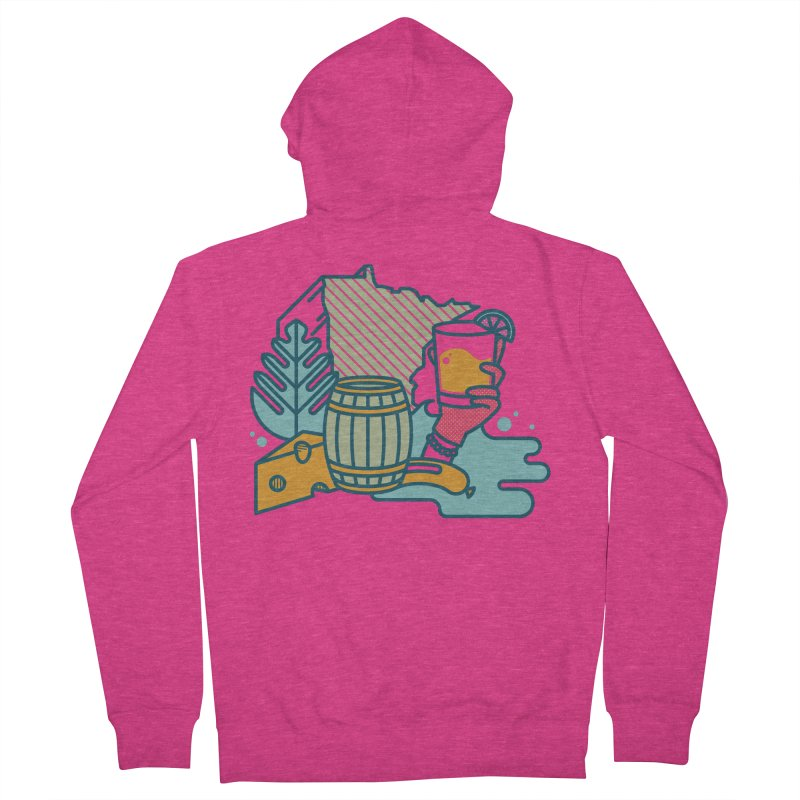 Here Comes a Regular (Apparel) Women's French Terry Zip-Up Hoody by bellyup's Artist Shop