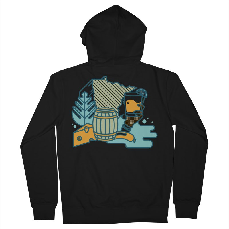 Here Comes a Regular (Apparel) Men's Zip-Up Hoody by bellyup's Artist Shop