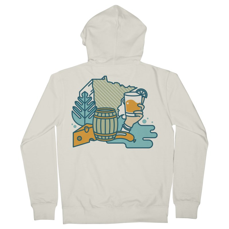 Here Comes a Regular (Apparel) Men's French Terry Zip-Up Hoody by bellyup's Artist Shop