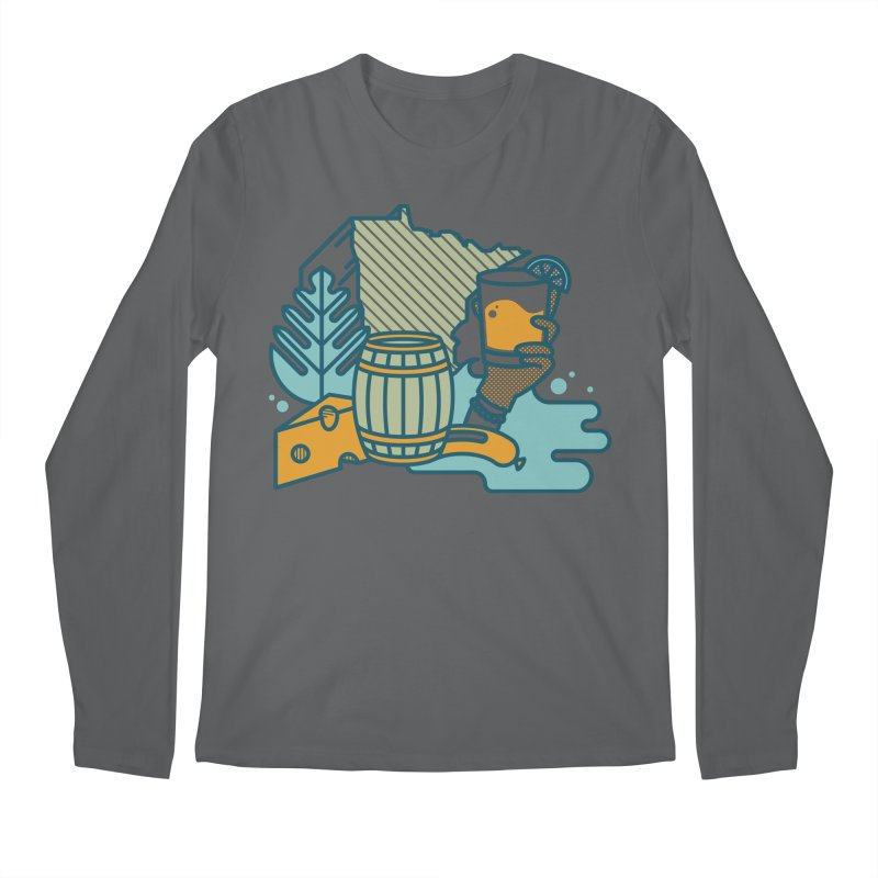 Here Comes a Regular (Apparel) Men's Longsleeve T-Shirt by bellyup's Artist Shop