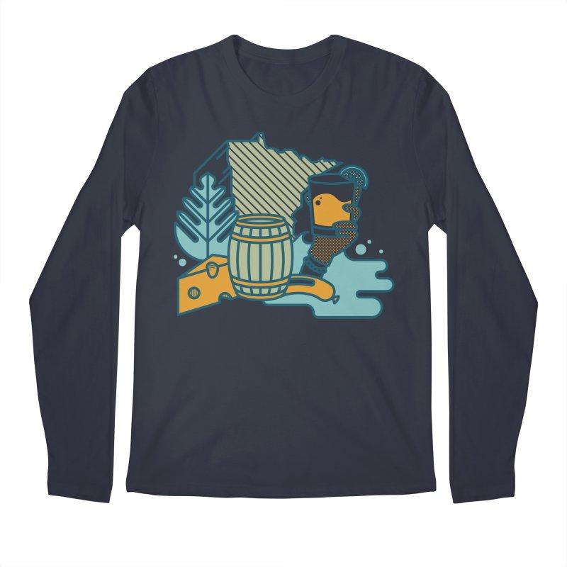 Here Comes a Regular (Apparel) Men's Regular Longsleeve T-Shirt by bellyup's Artist Shop