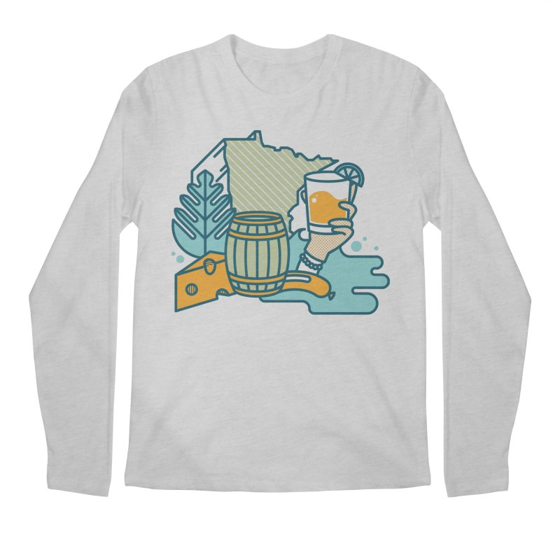 Here Comes a Regular (Apparel) Men's Regular Longsleeve T-Shirt by bellyup's Artist Shop