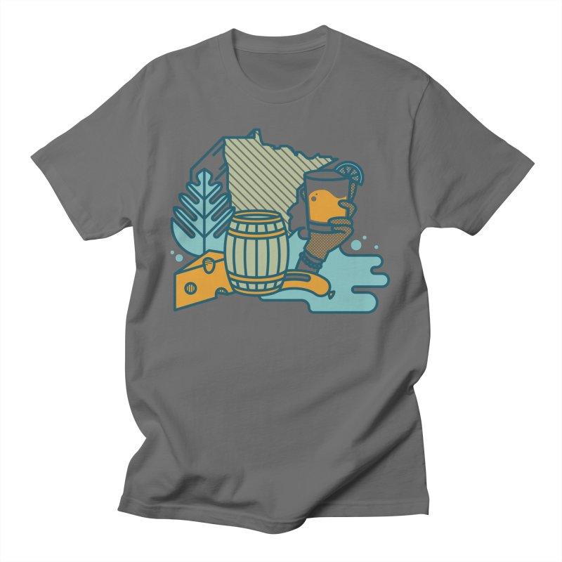 Here Comes a Regular (Apparel) Men's T-Shirt by bellyup's Artist Shop