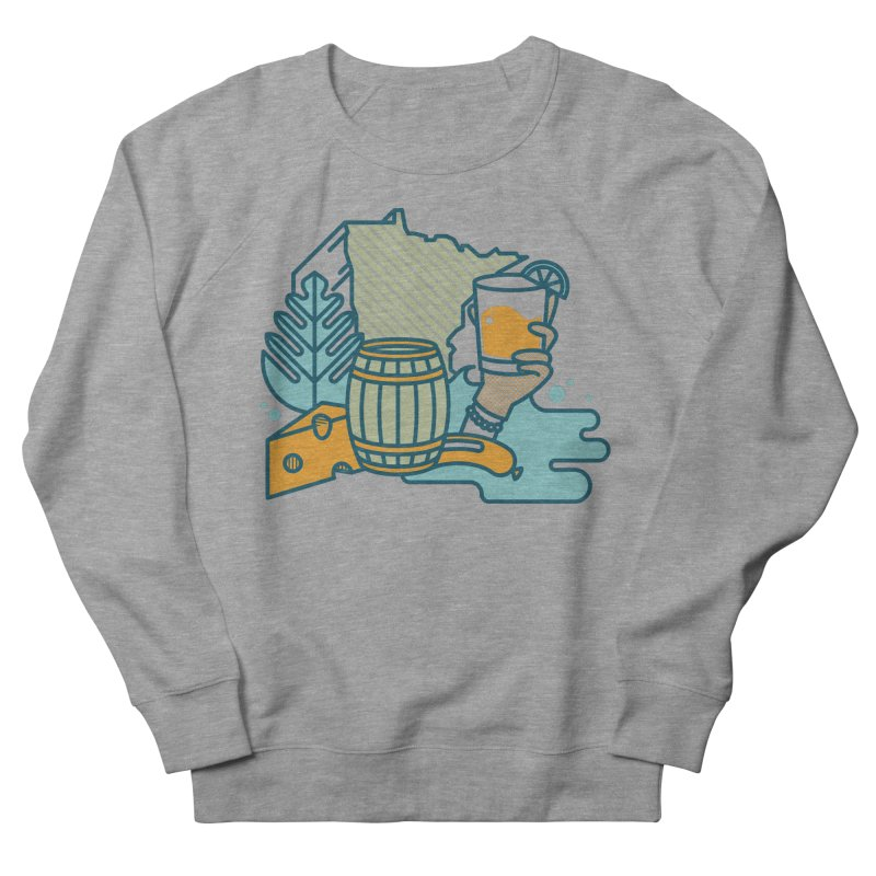 Here Comes a Regular (Apparel) Men's French Terry Sweatshirt by bellyup's Artist Shop