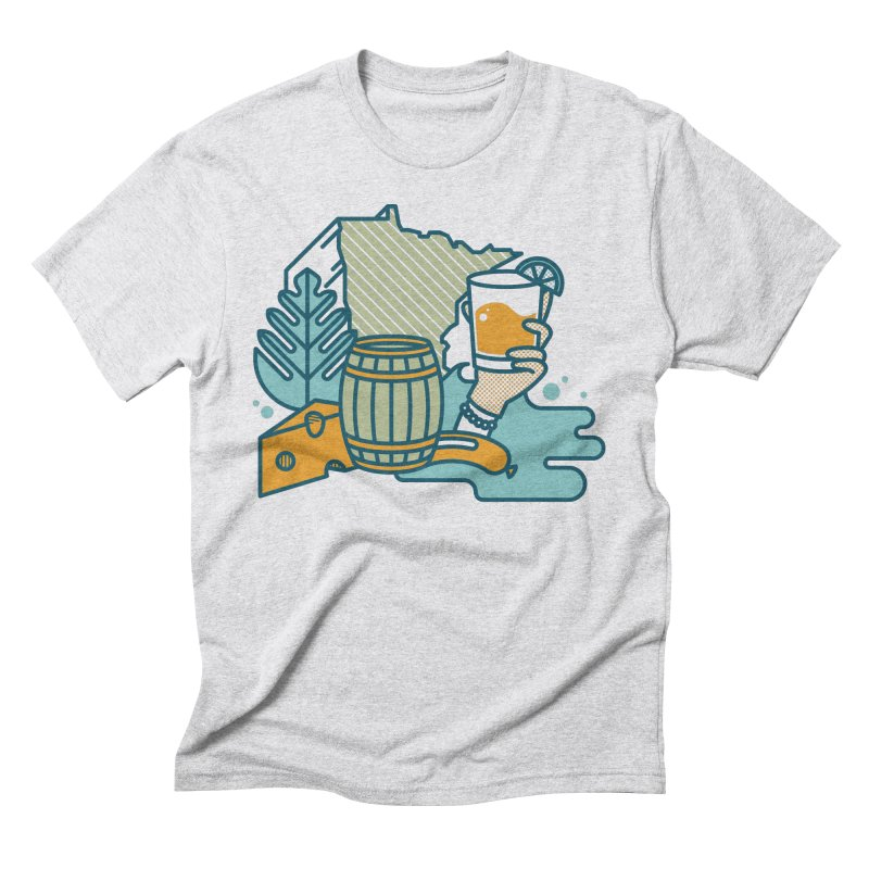 Here Comes a Regular (Apparel) Men's T-Shirt by bellyup's Artist Shop