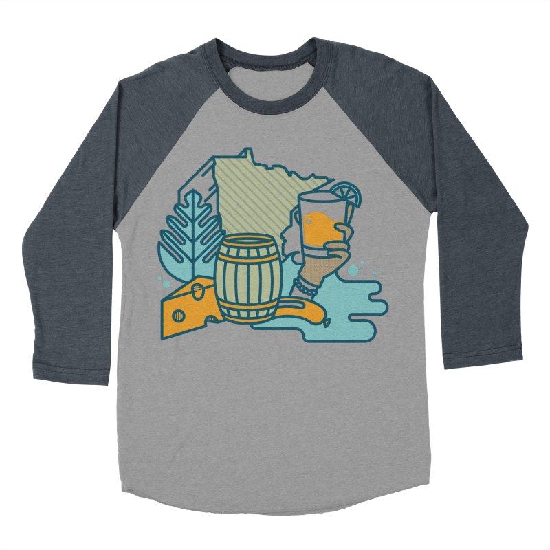 Here Comes a Regular (Apparel) Women's Baseball Triblend Longsleeve T-Shirt by bellyup's Artist Shop