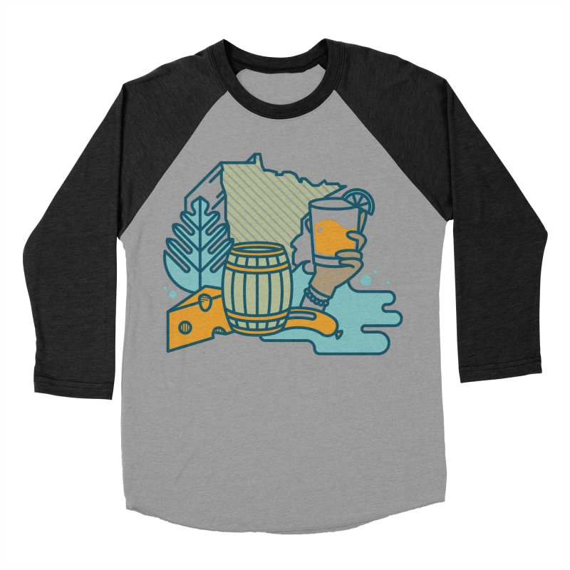 Here Comes a Regular (Apparel) Men's Baseball Triblend Longsleeve T-Shirt by bellyup's Artist Shop
