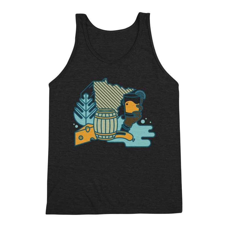 Here Comes a Regular (Apparel) Men's Tank by bellyup's Artist Shop