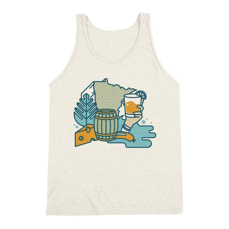 Here Comes a Regular (Apparel) Men's Triblend Tank by bellyup's Artist Shop