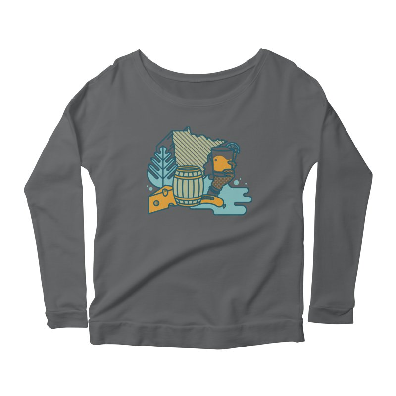 Here Comes a Regular (Apparel) Women's Scoop Neck Longsleeve T-Shirt by bellyup's Artist Shop