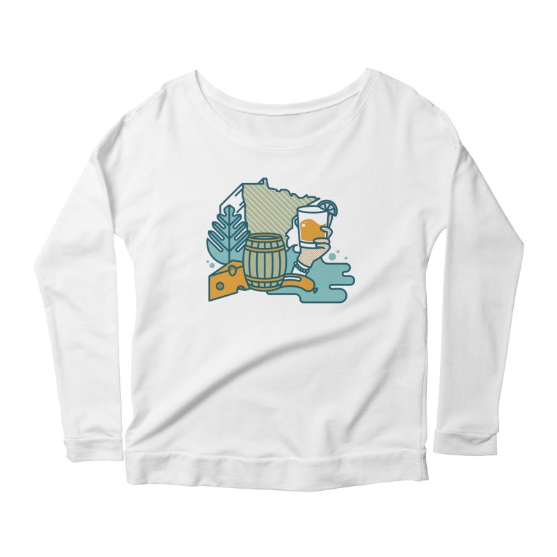 Here Comes a Regular (Apparel) Women's Scoop Neck Longsleeve T-Shirt by bellyup's Artist Shop