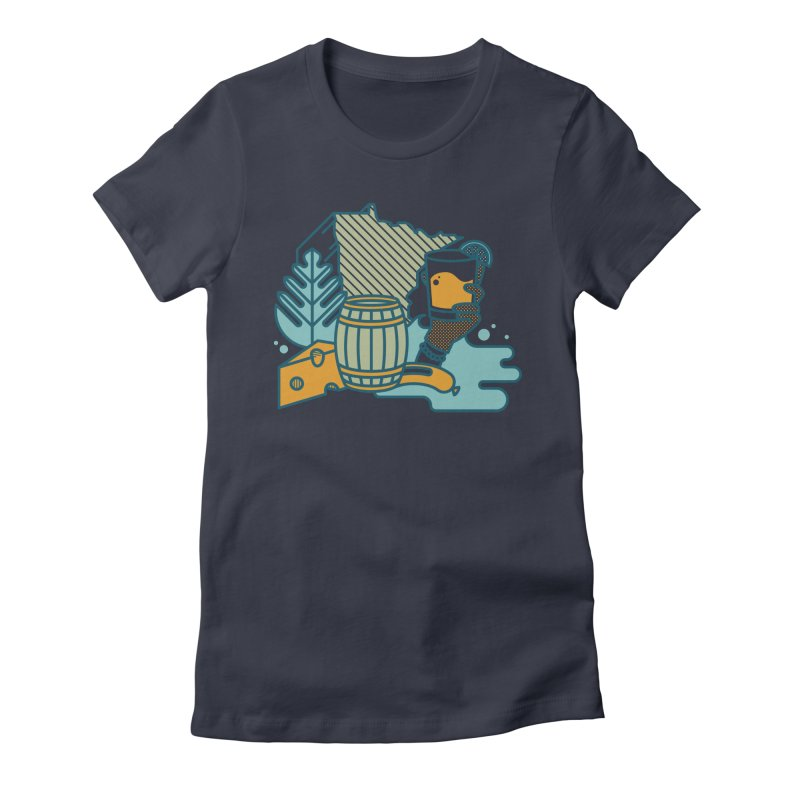 Here Comes a Regular (Apparel) Women's T-Shirt by bellyup's Artist Shop