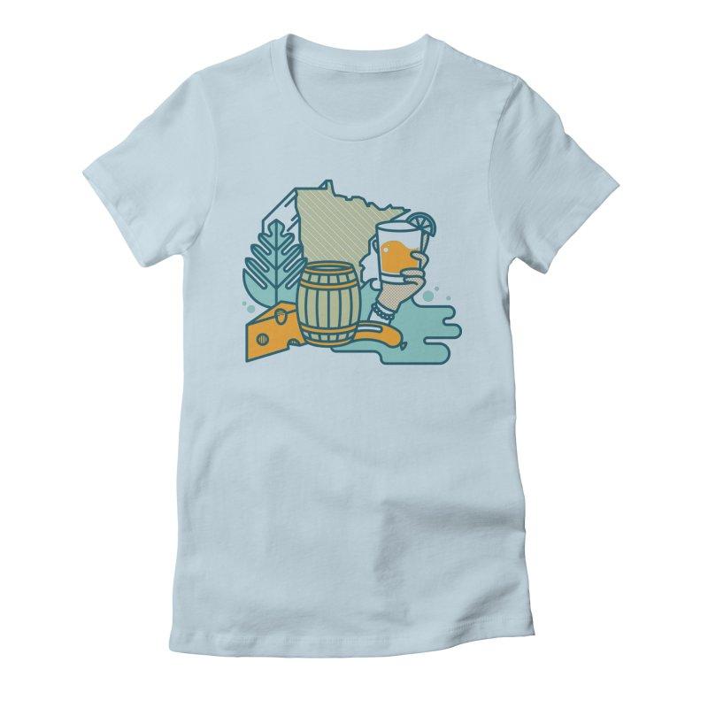 Here Comes a Regular (Apparel) Women's T-Shirt by bellyup's Artist Shop