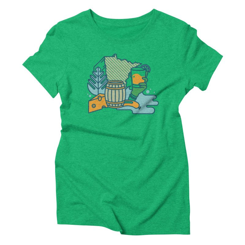 Here Comes a Regular (Apparel) Women's Triblend T-Shirt by bellyup's Artist Shop