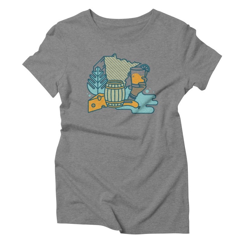 Here Comes a Regular (Apparel) Women's Triblend T-Shirt by bellyup's Artist Shop