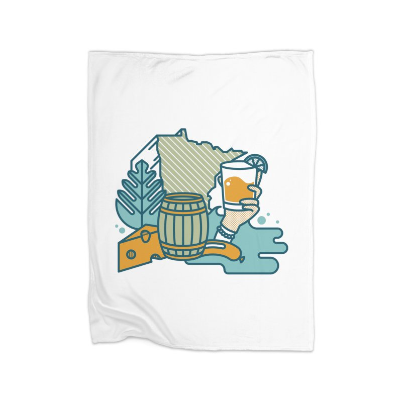 Here Comes a Regular (Apparel) Home Blanket by bellyup's Artist Shop