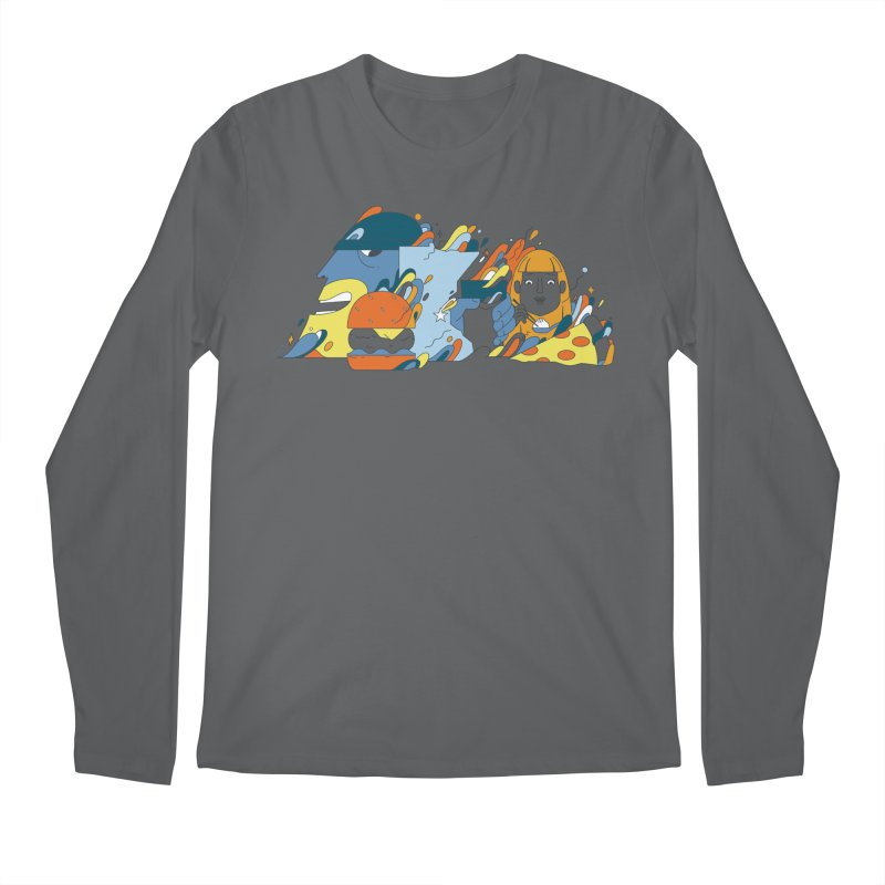Color Me Impressed (Apparel) Men's Longsleeve T-Shirt by bellyup's Artist Shop