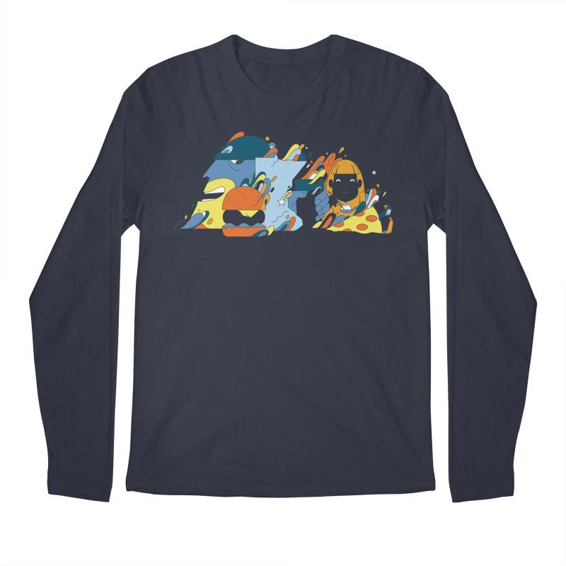 Color Me Impressed (Apparel) Men's Longsleeve T-Shirt by bellyup's Artist Shop