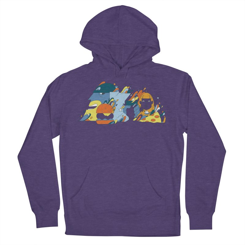 Color Me Impressed (Apparel) Women's French Terry Pullover Hoody by bellyup's Artist Shop